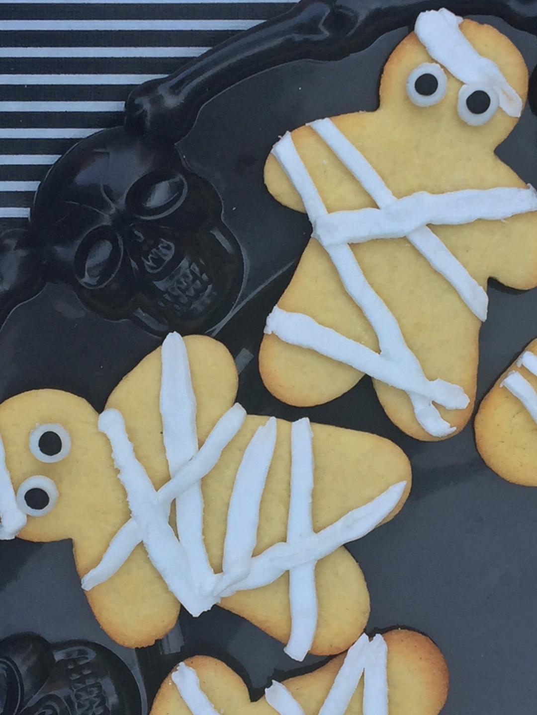 close up cookies