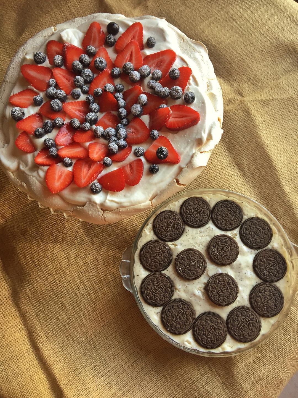 Pav and Cheesecake