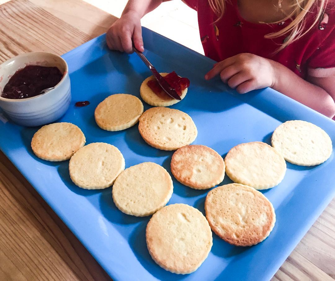 Sophie baking 1